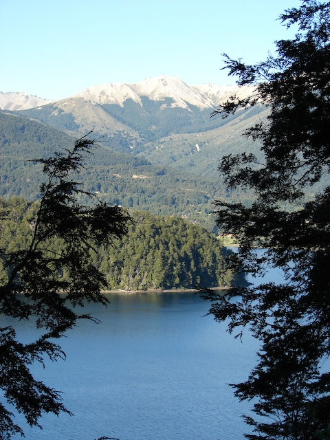 Lago Nahuel Huapi and the Andes