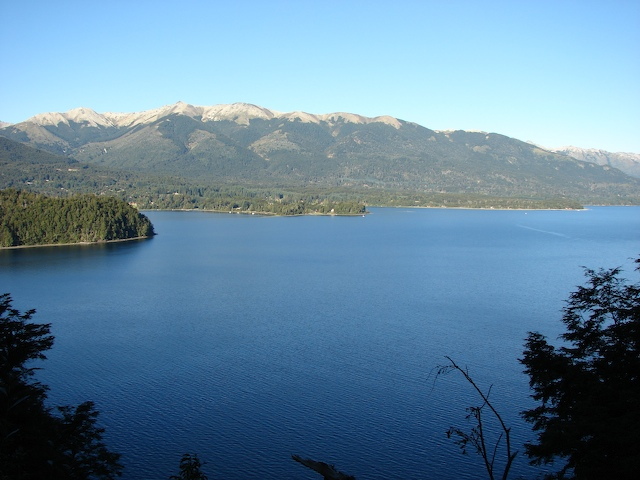Lago Nahuel Huapi and the Andes, again