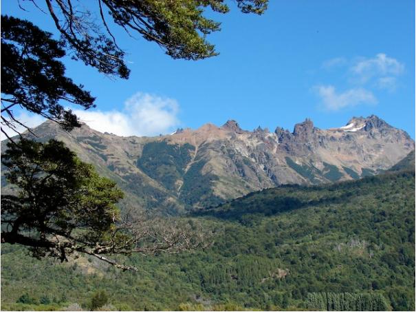 Hiking in Los Alerces National Park, Argentina