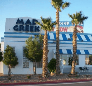 Mad Greek Cafe in Primm Nevada