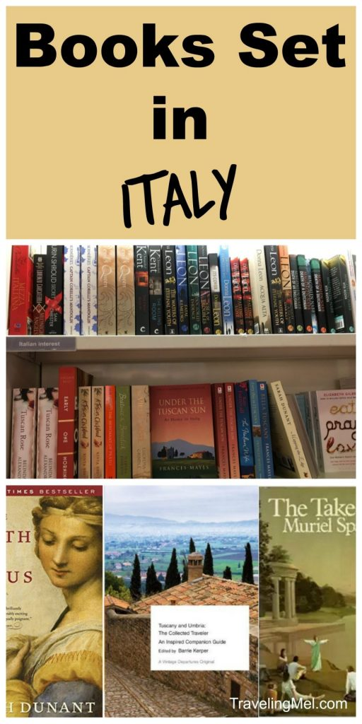 These books set in Italy are great reading for a trip to Italy, even if it's from your armchair. #bookclub #italy