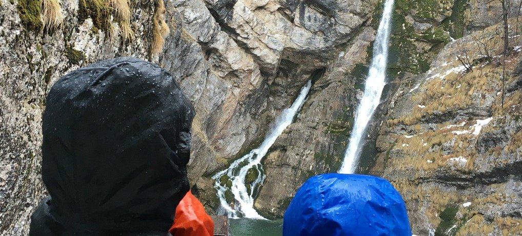 What to do in lake bled, visit Savica Slap in Bohinj