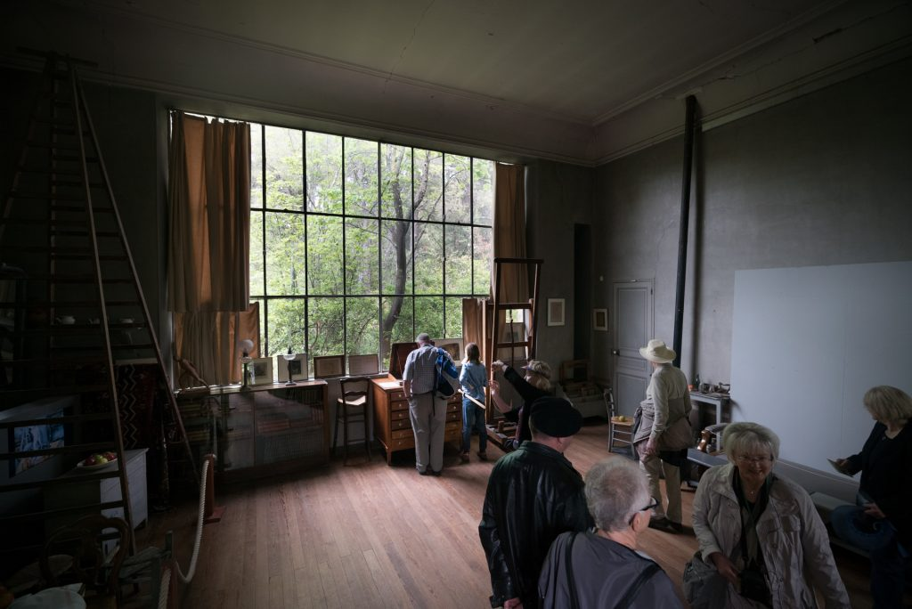 Cezanne's atlier or workshop in a fun visit for kids in Aix-en-Provence
