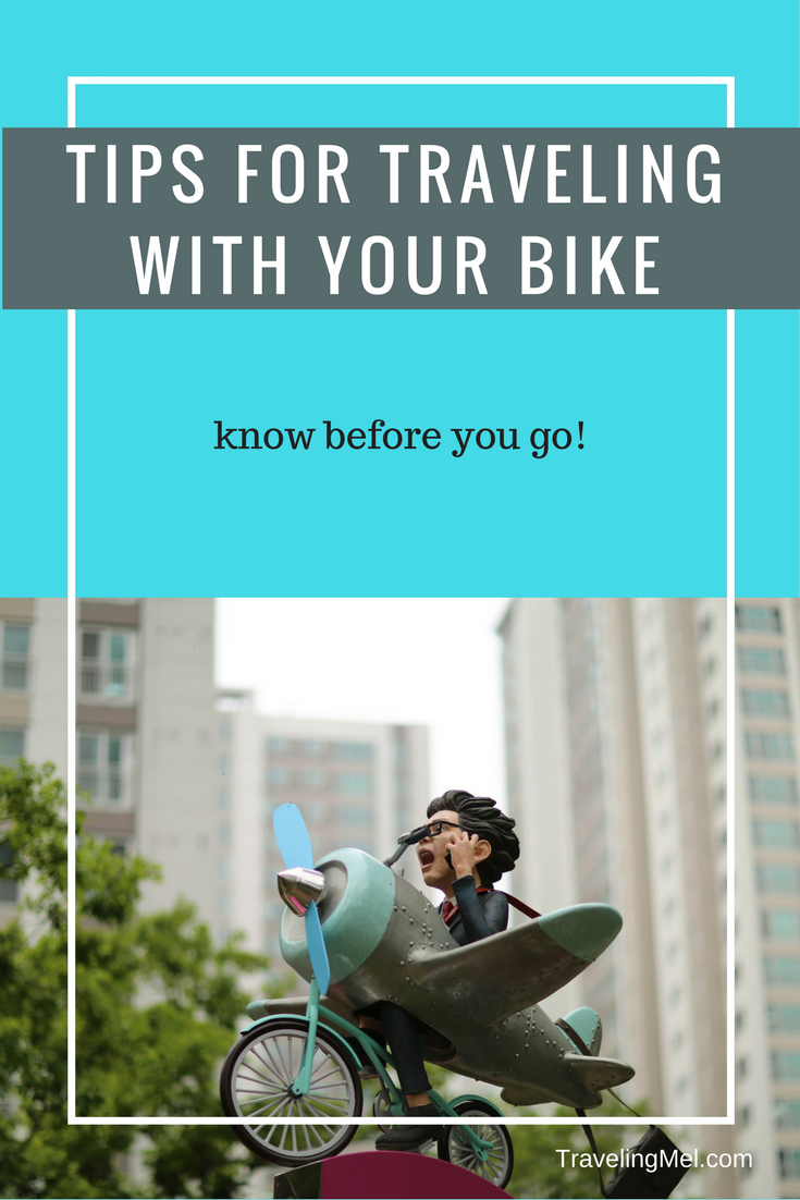 Taking a trip and don't want to leave your bicycle behind? These ten tips for traveling with your bike will make flying, driving, training, or bussing easy.