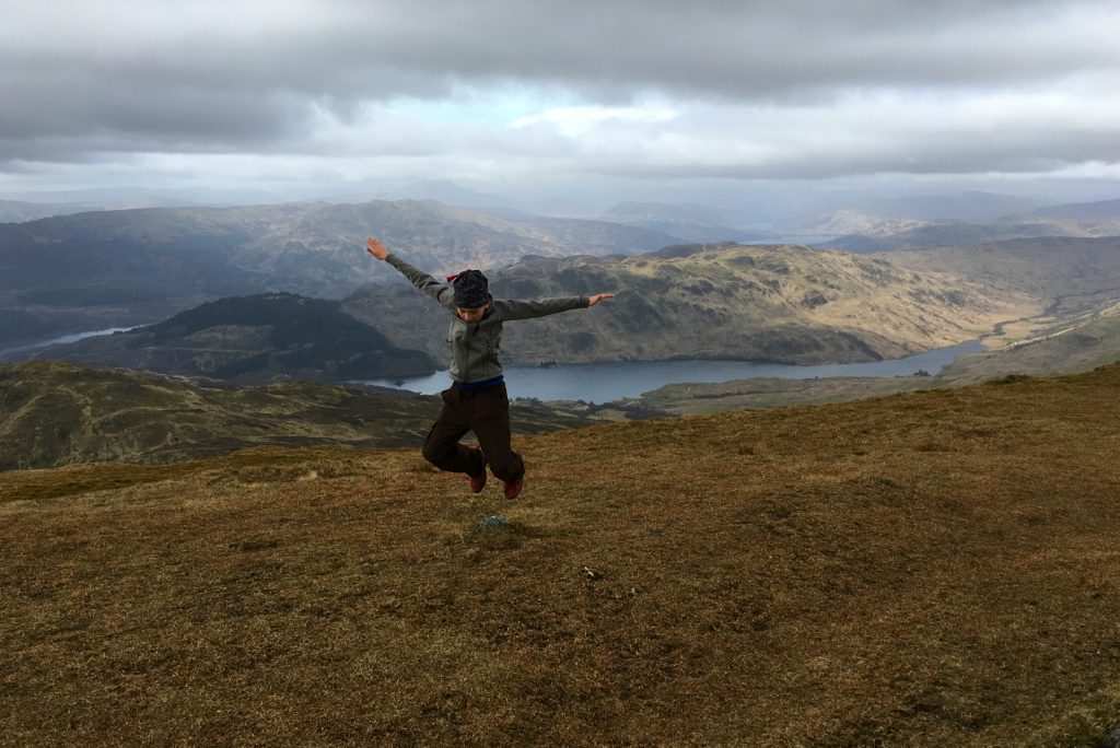 hiking ben ledi in callender scotland