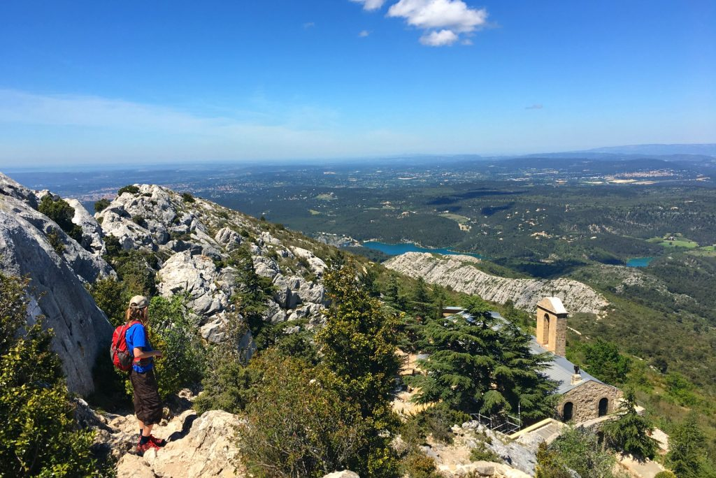 hiking sainte victoire in france