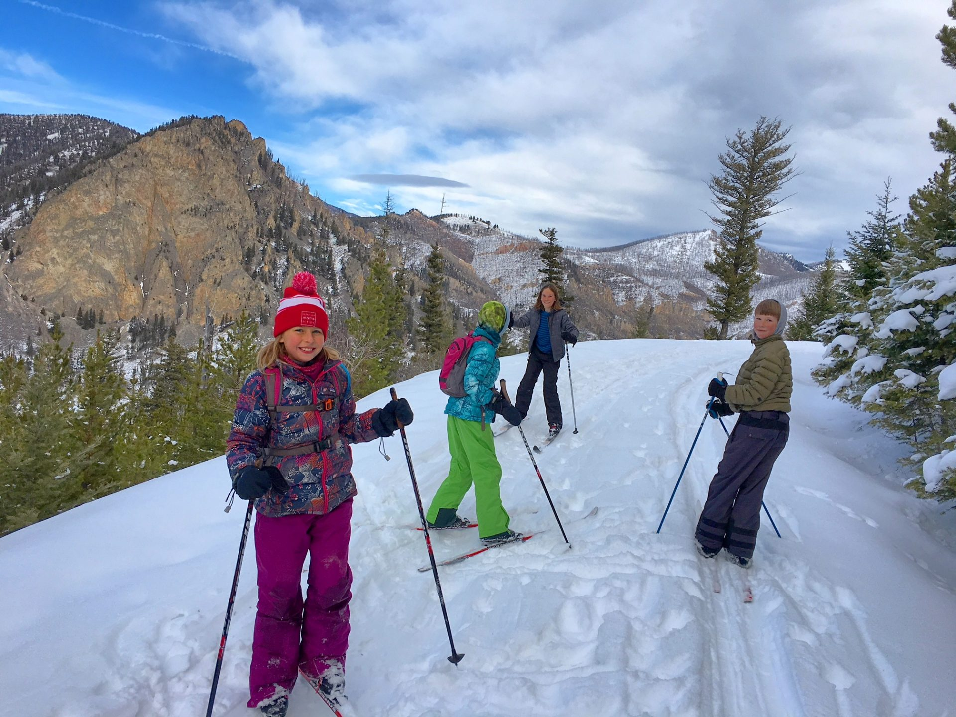 cross country skiing in montana