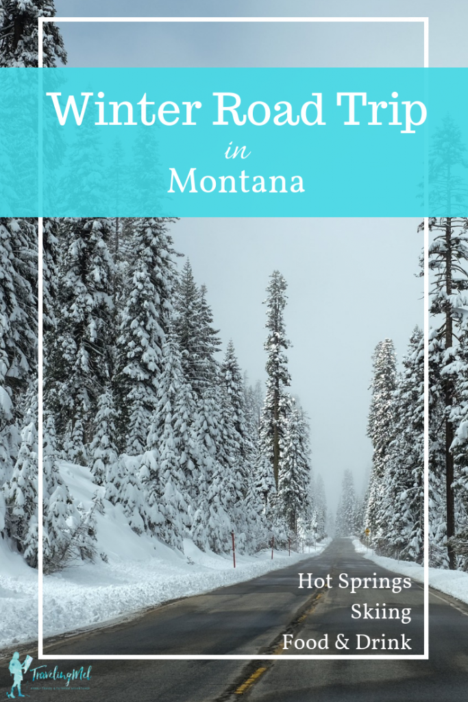 Plan your Montana winter road trip for the best dog sledding, cross-country skiing, hot springs, and food and drink the state has to offer.  Glacier National Park, sleep in a caboose at the Izaak Walton Inn, and soak at Quinn Hot Springs.