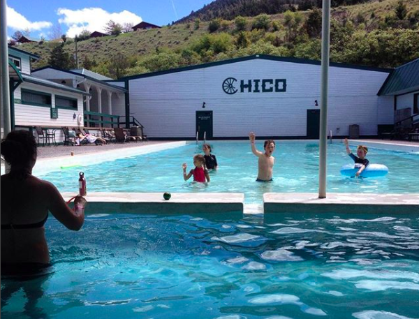 Chico Hot Springs MT