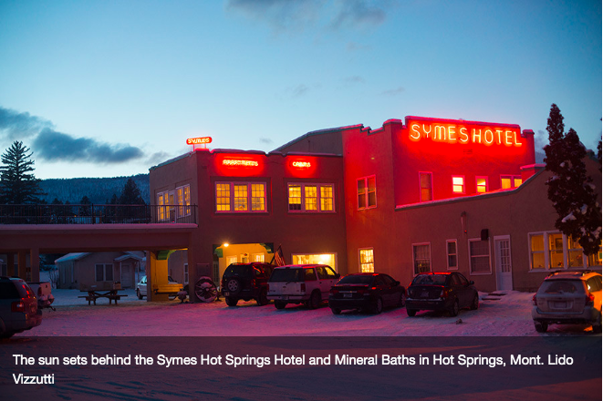 Symes Hot Springs Hotel in Hot Springs Montana