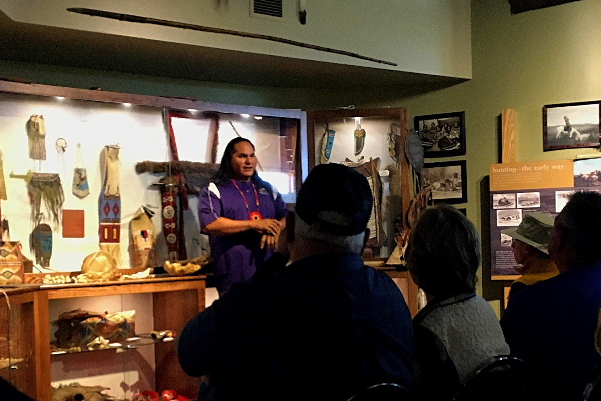 Lakota Sioux man in Deadwood