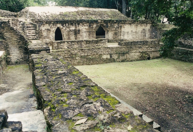 The Mayan ruins at Cahal Pech, Belize