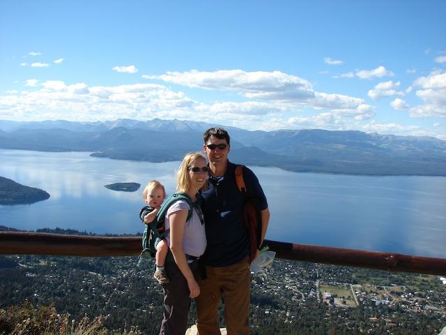 The view from Cerro Otto